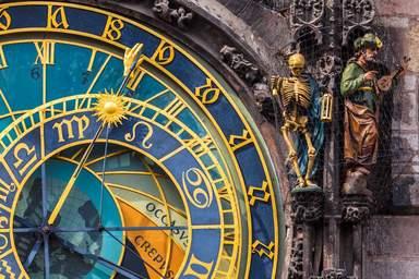Пражские астрономические часы на Староместской ратуше