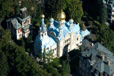 Храм святых апостолов Петра и Павла в Карловых Варах