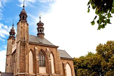 Костехранилище в Седлеце в Чехии