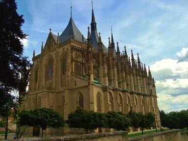 Собор Святой Варвары на Кутна Горе