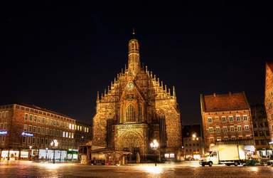 Церковь Божьей матери в Нюрнберге