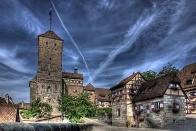 Замок Кайзенбург в Нюрнберге