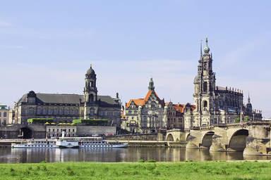 Мост Августа в Дрездене