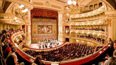 Спектакль в Дрезденской государственной опере