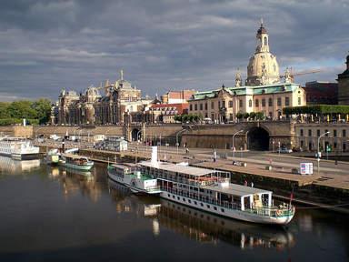Речные прогулки в Дрездене