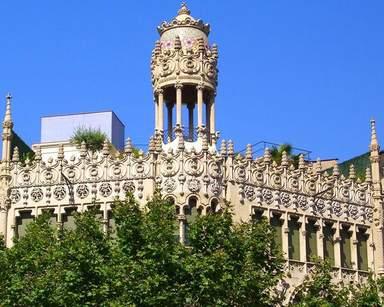 Архитектура Барселоны в стиле модерн