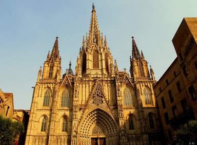 Собор Святого Креста и Святой Евлалии или Кафедральный собор Барселоны