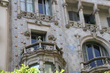 Удивительные фасады Барселоны