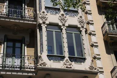 Чудесные балконы Барселоны