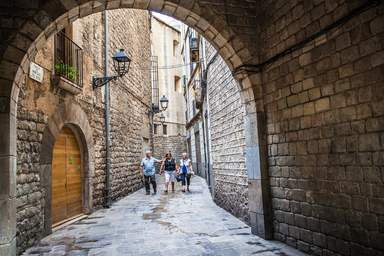 Улица Старой Барселоны