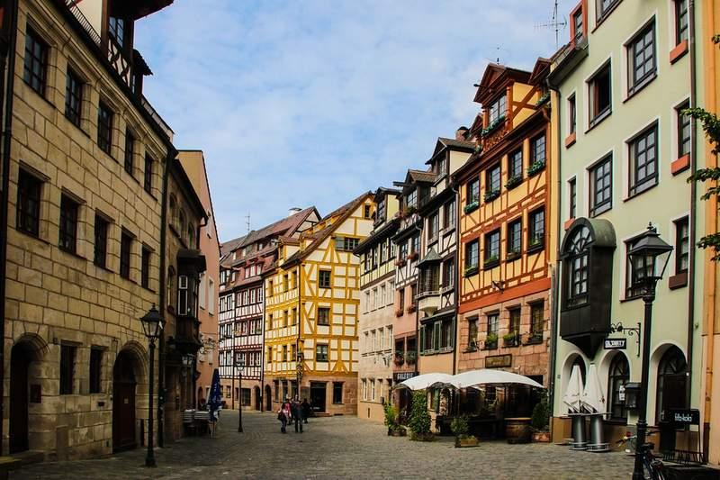 Старый город в Нюрнберге