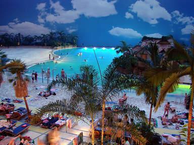 Тропики в аквапарке