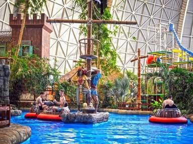 Тропический остров в аквапарке