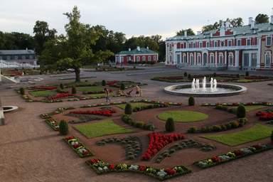 Парк Кадриорг - резиденция царской семьи
