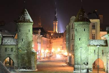 Вируские ворота в Таллине