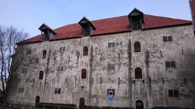 Старое здание в Таллине
