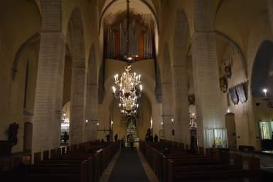 Интерьер церкви Нигулисте