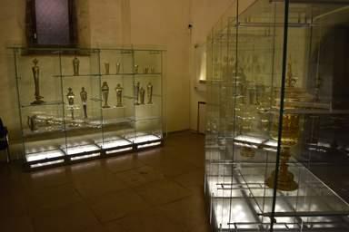 Экспозиция церкови - музея Нигулисте