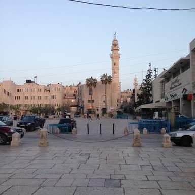 Мечеть Омара на плащади Рождества в Вифлееме