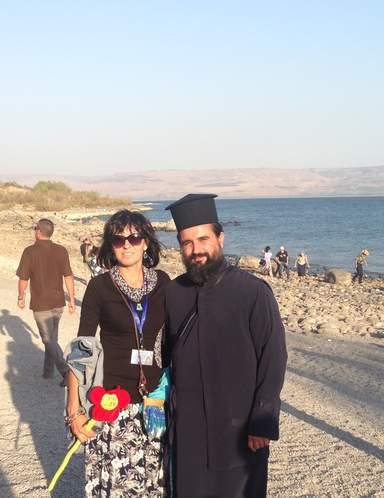 Фото на память у Галилейского моря
