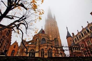 Осенний Брюгге