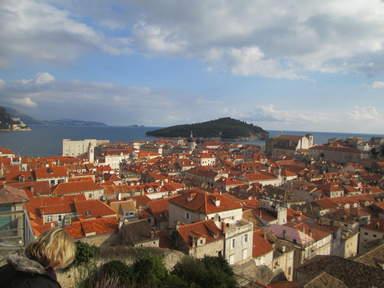 Остров Локрум рядом с городом Дубровник