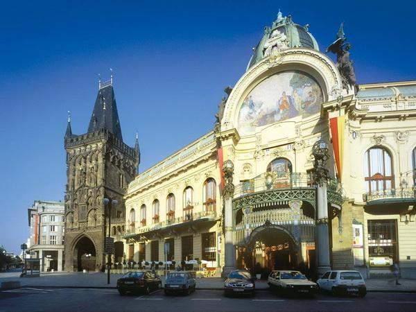 Средневековая Ратуша в центре Праги