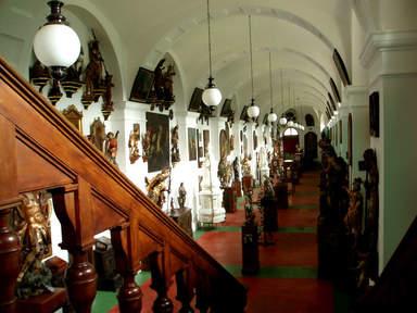 Интерьер замка Конопиште