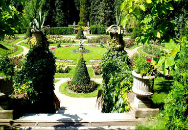 Парк замка Конопиште