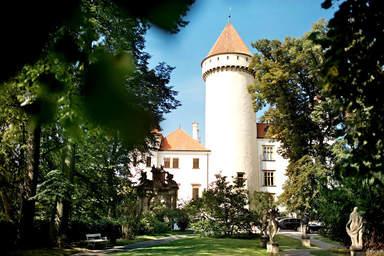 Башня замка Конопиште
