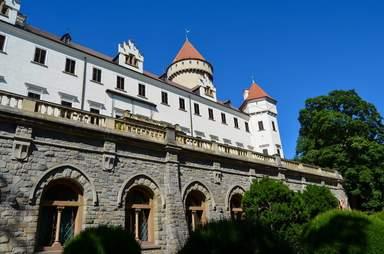 Средневековый замок Конопиште