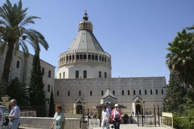 Базилика Благовещения – католический храм в Назарете