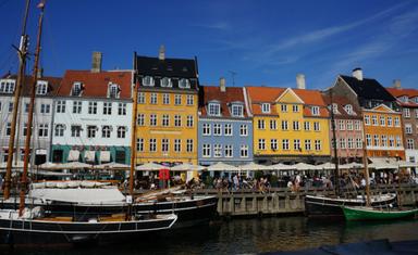 Копенгаген. Канал Нюхавн