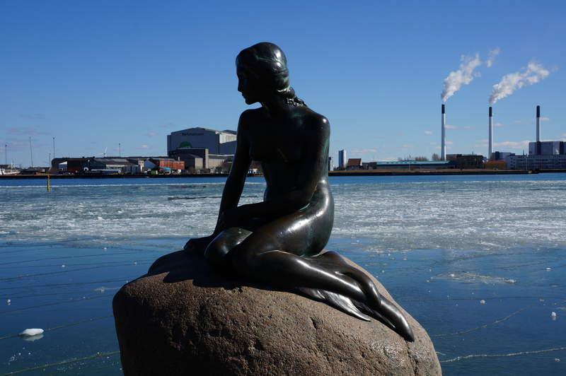 Копенгаген. Русалочка