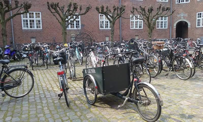 Копенгаген город велосипедов