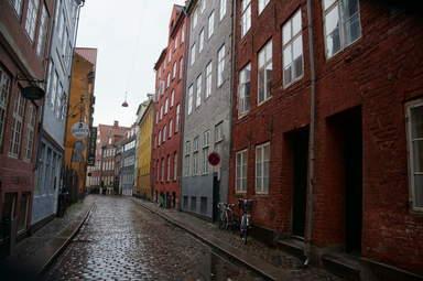 Копенгаген. Одна из старинных улочек города