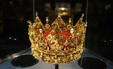 Розенборг. Сокровищница. Корона Кристиана 4