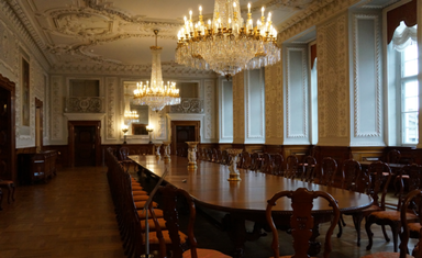 Дворец Кристиансборг. Зал для приемов