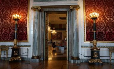 Дворец Кристиансборг. Бывший тронный зал