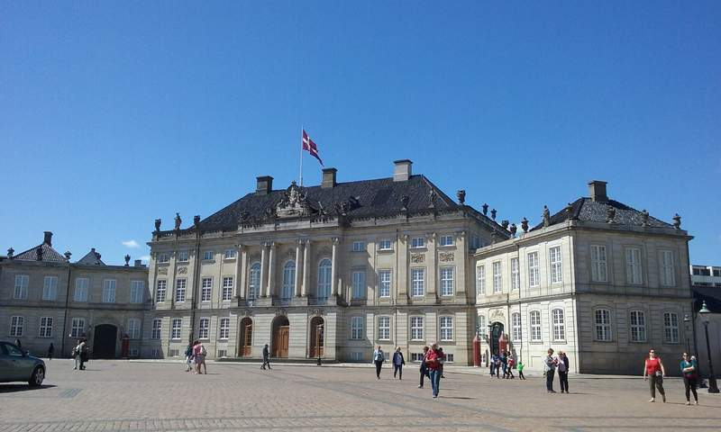 Королевский дворец Амалиенборг. Музей