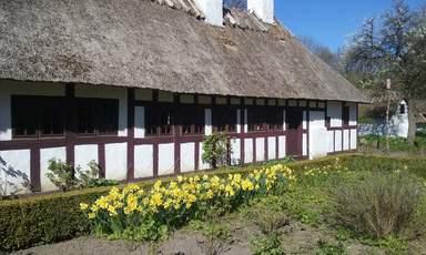 Датская деревня. Один из домиков