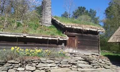 Датская деревня. Один из самых старых домов в музее