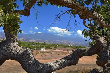 Пейзаж в долине Санта-Инес