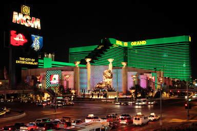 Казино - отель MGM Grand в Лас-Вегасе