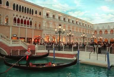 Венеция в миниатюре в Лас-Вегасе