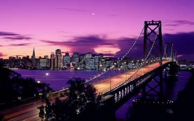 Мост Бэй-Бридж в Сан-Франциско