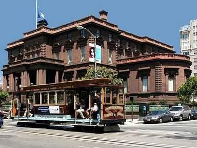 Канатный трамвай в Сан-Франциско