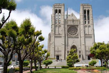Собор Грейс в Сан-Франциско