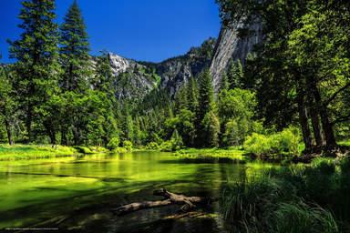 Дивный уголок парка Йосемити