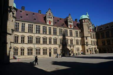 Внутренний двор замка Кронборг